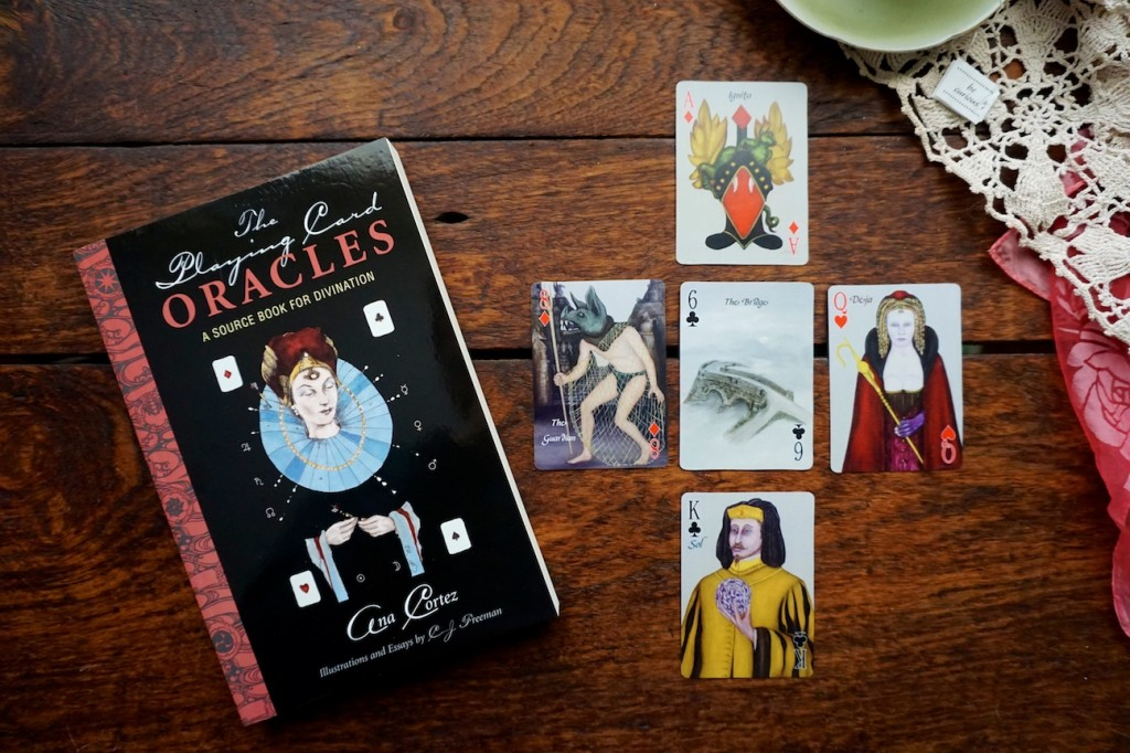 Playing Card Oracles Book with Alchemy Edition Deck by CJ Freeman and Ana Cortez