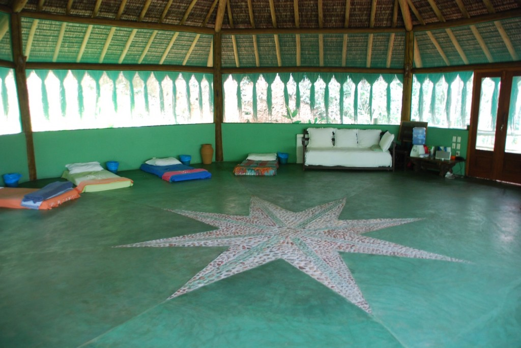 ayahuasca ceremony room star