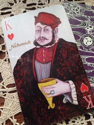 King of Hearts Nichomiah Playing Card Oracle Alchemy CJ Freeman