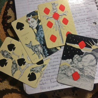 The Playing Card Oracles Deck by CJ Freeman