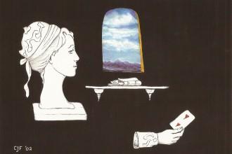 C.J. Freeman card reader art